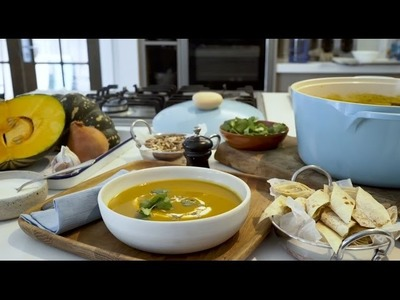 How to: Curry Roasted Pumpkin Soup