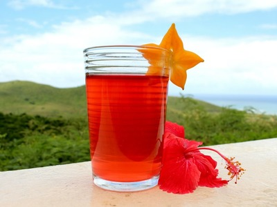 How to Dry and Make Hibiscus Tea for High Blood Pressure or Hypertension