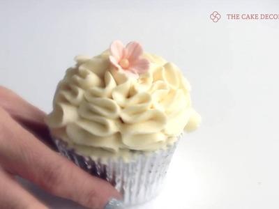 How to: Ice Cream Swirl Piping Tip - Oriental Ruffle