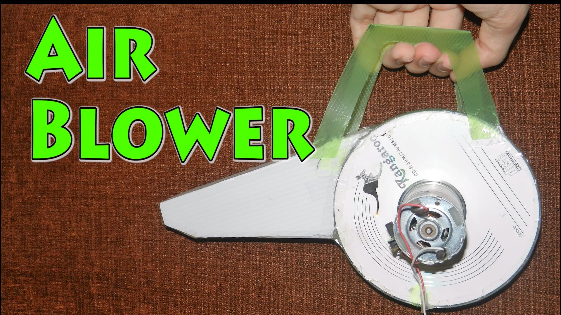 How to make a Air Blower at Home