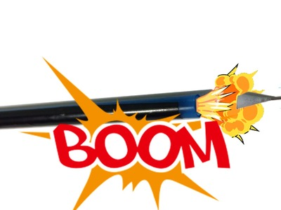 How to make a blow gun using a pen