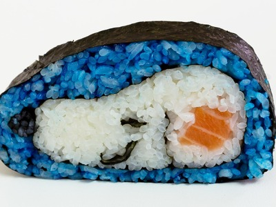 How to Make a Dog Sushi Roll  - Food Art