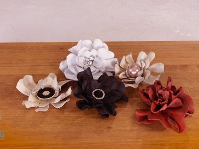 How to Make a Leather Rose