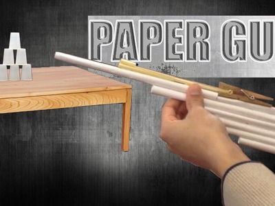 How to make a paper gun