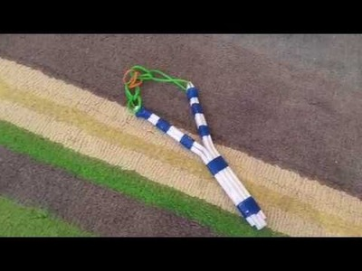 How to make a paper slingshot