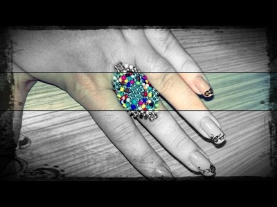 How to make a ring made of beads