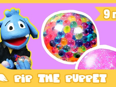 How to Make a Squishy Ball Craft | Pip The Puppet