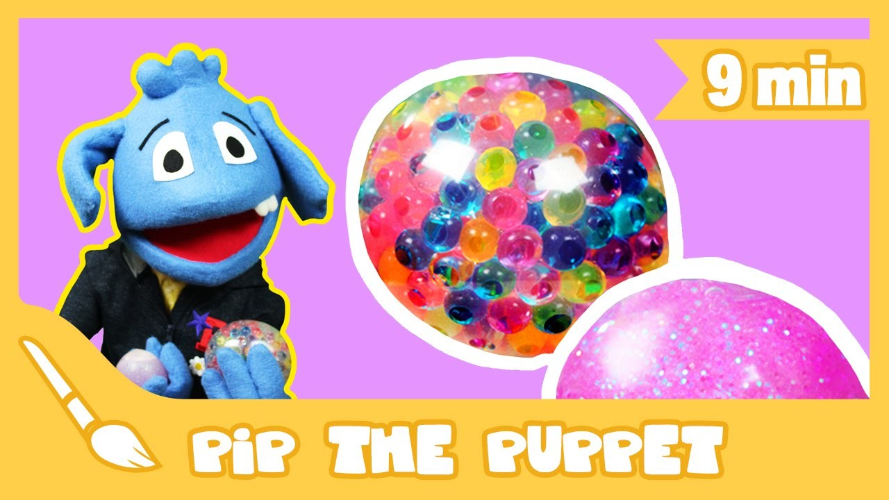 How to Make a Squishy Ball Craft   Pip The Puppet