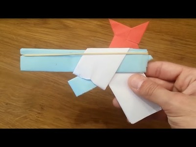 How To Make an Origami Gun That Shoots Ninja Stars