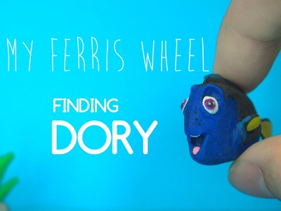 How to make Dory out of polymer clay (Finding Dory)