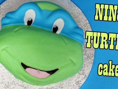 How to make Ninja Turtles cake. Jak zrobić tort Żółw Ninja