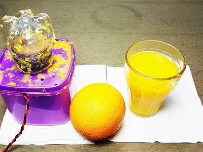 How to make Orange Juicer using Plastic Bottle