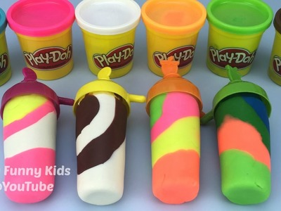 How to Make Play Doh Ice Cream With Molds Fun and Creative for Kids and Children