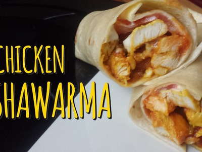 Ramadan Recipes: How to Make a Chicken Shawarma Wrap