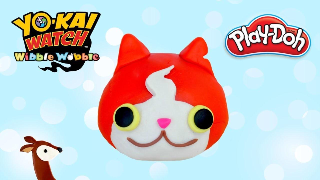 Yo-Kai Watch Play-Doh: How to Make Jibanyan Wibble Wobble