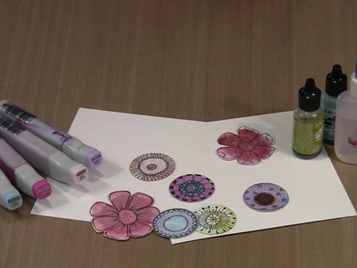 Alcohol Ink & Paper: An Unusual Combination by Joggles.com