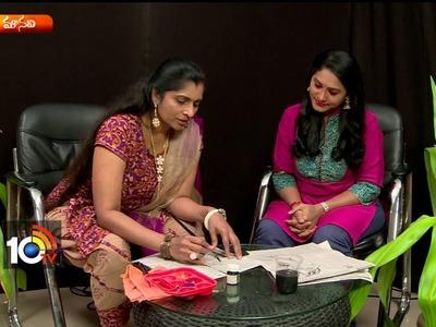 Beautiful Crafts With News Paper | Home Made Handi Crafts | Sogasu | Manavi | 10TV