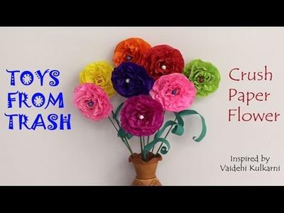 Crush Paper Flowers   Hindi
