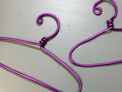 DIY American Girl Doll Clothes Hangers for Crafts Too!