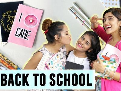 DIY Back To School Supplies + Giveaway | Dhwani Bhatt