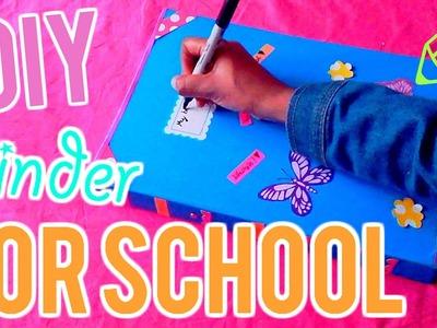 DIY Binder Decor!