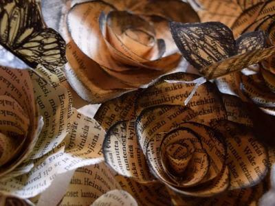 DIY- Paper roses