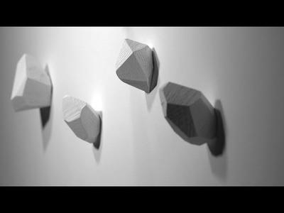 DIY Project Idea: Coat Hangers Room Decor - 15.30