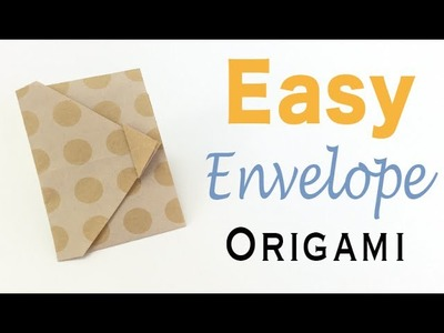 Easy☺︎Origami Paper Envelope Tutorial - Origami Kawaii 〔#126〕