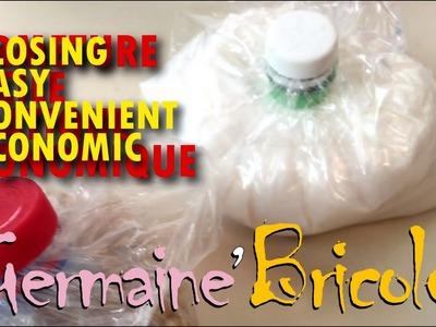 Easy practical economic closure | ★ | Germaine bricole | DIY