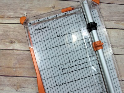 Fiskars New Paper Trimmer Initial Thoughts