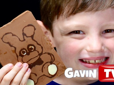 FNAF BONNIE Chocolate Bar  DIY by Chocolate Picture Maker Five Nights at Freddy's version