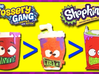 GROSSERY GANG Giant Play Doh Bucket of Gross Surprise Toys, DIY Mushy Slushy Grossery Gang