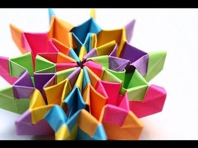 [Handmade Guides] make paper firework - origami art