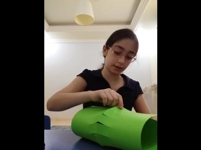 How to make a Ramadan lantern.EASY with paper