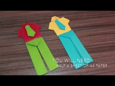 #HOWTO#MAKE A PAIR OF  #Origami#PAPER PANTS. .