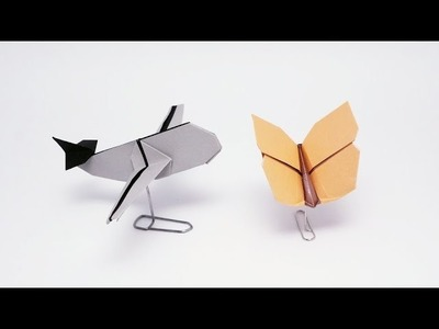 Paper Clip Stand for Origami - Origami Tip #5