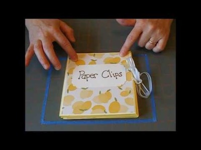 Paper Clip Storage Flip Book part 1