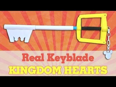 Sora's Keyblade (Kingdom Hearts) - How To Make A Paper Sword - Keyblade - Kingdom Hearts Tutorial