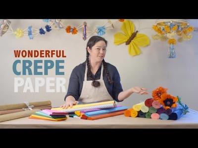 Wonderful Crepe Paper
