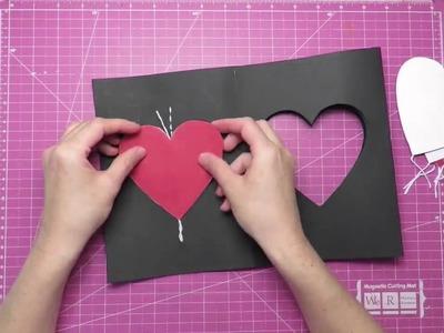 A cool DIY card idea.5-Minute Craft.