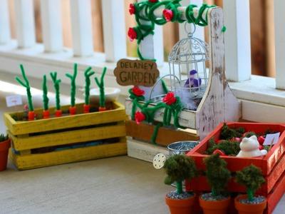 American Girl Doll Garden DIY