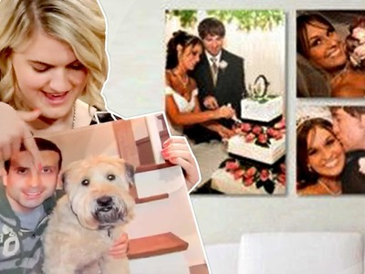 BEST Large Canvas Prints UNDER $30! - Great DIY Photo Gift!