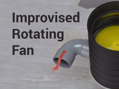 DIY: 360° Rotating Fan Attachment for the Rotary Tool