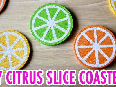 DIY Citrus Slice Coaster Set - HGTV Handmade
