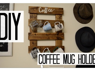 DIY Coffee Mug Holder!