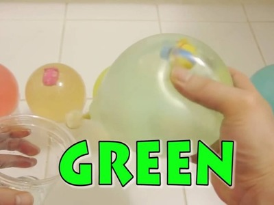DIY Creative For Kids 'Colors Water Balloons' Learn Colors Syringe Surprise Real Play Toys