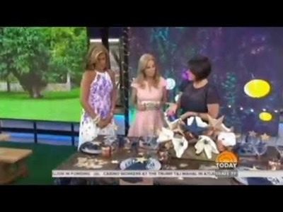 DIY Designer Lia Griffith with Kathie Lee & Hoda on the Today Show!