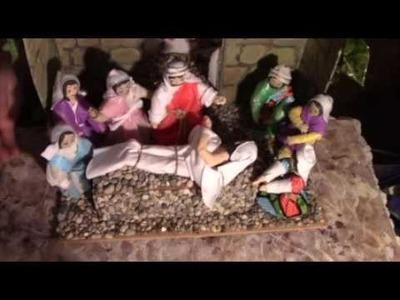 DIY  DO IT YOURSELF Clay  Lazarus Tomb Display Project Jesus Gospel  Angels SAVED