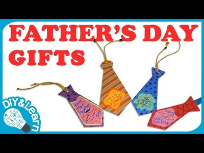 DIY Father's Day 2016 Gift Ideas - Bookmarker - GreenGoldKids