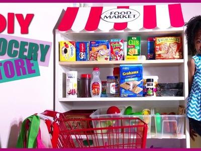 DIY Kids Grocery Store Market | Playhouse Setup | BlueprintDIY Kids